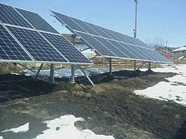 Сонячна електростанція 30кВт м.Снятин 3