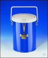 Сосуд Дьюара, цилиндрический, для СО2 и жидкого N2 Тип 26 B Объем 1 л Внутреннийдиаметр 100 мм Высотавнутр. 150 мм, 9032726, KGW, 1211
