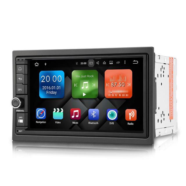 Автомагнитола 2 DIN DY7003 - MG 3G( sim Карта)  GPS Android+ WiFi +16 гб/2гбОЗУ 4Ядра