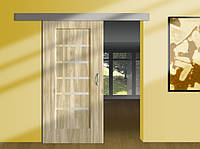 Система для раздвижных межкомнатных дверей HERKULES 60/3000  дверь до 1500мм