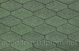 """Битумная черепица """"IKO"""", Diamant PLUS 03 (Amazon Green)"""