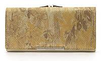 Оригинальный гламурный женский кошелек с очень качественной кожи LOUI VEARNER art. LOU38-2019C золотой перелив, фото 1