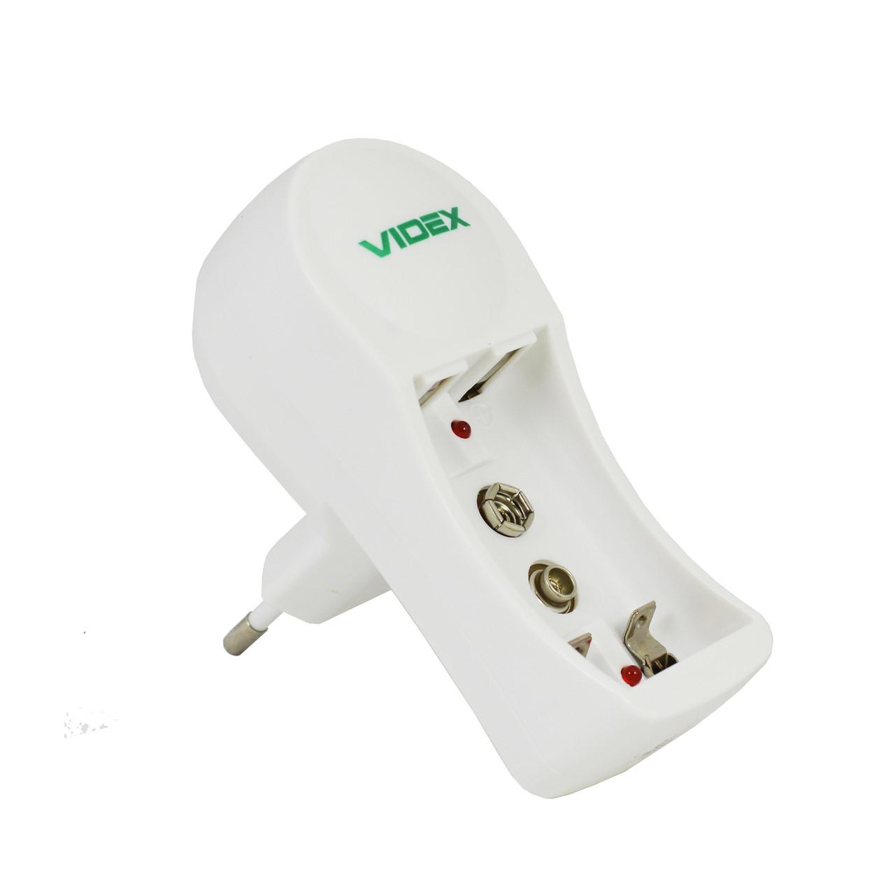 Зарядное Videx VCH-N201 2-х канальное аккумуляторы AA+AAA+крона