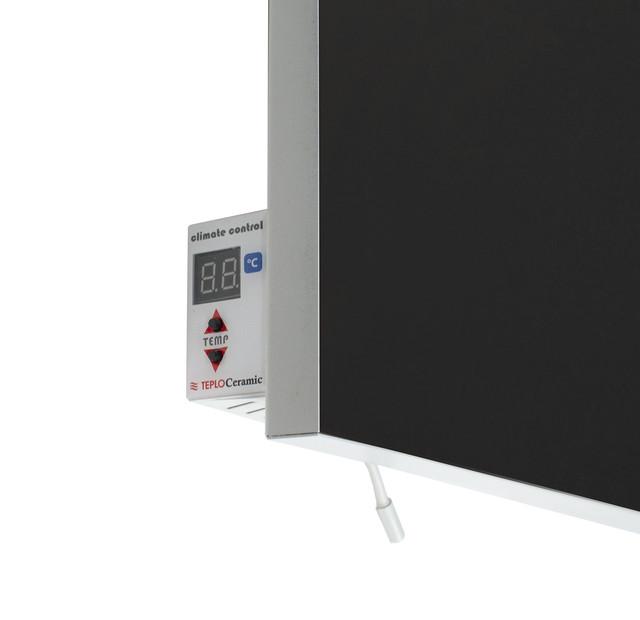 Керамический обогреватель инфракрасный  с терморегулятором черный 1000 Вт. 20 м.кв. TCM-RA 1000
