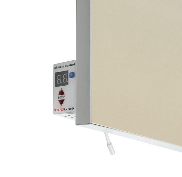 Керамический обогреватель инфракрасный  с терморегулятором бежевый 1000 Вт. 20 м.кв. TCM-RA 1000