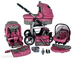 Многофункциональная детская коляска LUX4KIDS DINO 3в1