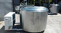 Ванна для охлаждения молока 1030л б/у с новым компресорным агрегатом