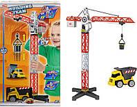 Функциональный строительный кран Dickie Toys 3463337