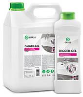 """Густое средство для прочистки канализационных труб """"Digger-Gel"""" 5L"""