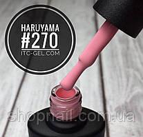 Гель-лак Haruyama №270 (розовый), 8 мл