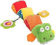 Мягкая игрушка-гусеница Baby Team Крокодил (8534)  , фото 1