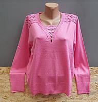 Кофта женская розового цвета