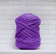 Пряжа для крупного вязания 100 % меринос ФИАЛКА