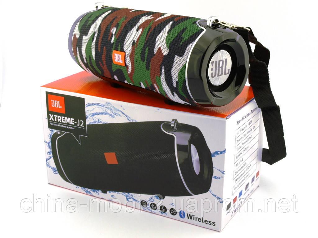 JBL XTREME-J2 Squad копия, портативная колонка 10W с Bluetooth FM и MP3, камуфляжная