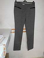Узкие классические  брюки в клетку Solar, фото 1