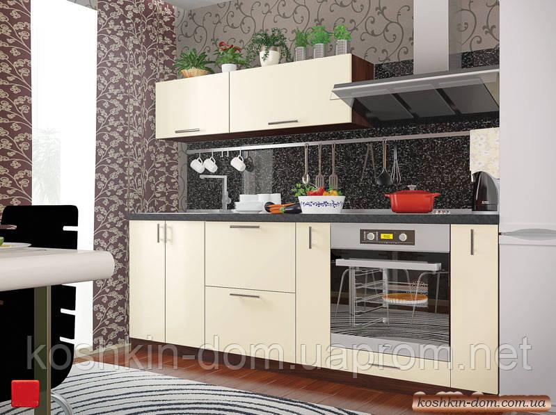 Модульна Кухня Колор-mix білий 2200 мм МДФ фарбований глянець