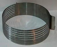 Раздвижная форма круглая с прорезью (16-30) 8.5 см