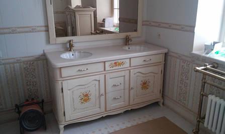 Столешница в ванную из камня Tristone F005, фото 2