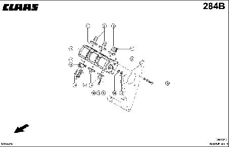 НАСОС ГИДРАВЛИЦЕСКИЙ 3-СЕКЦИОННЫЙ - CLAAS MEDION 330 H (2)