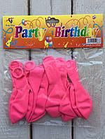 Воздушные шарики 10 шт Розовые Balloons