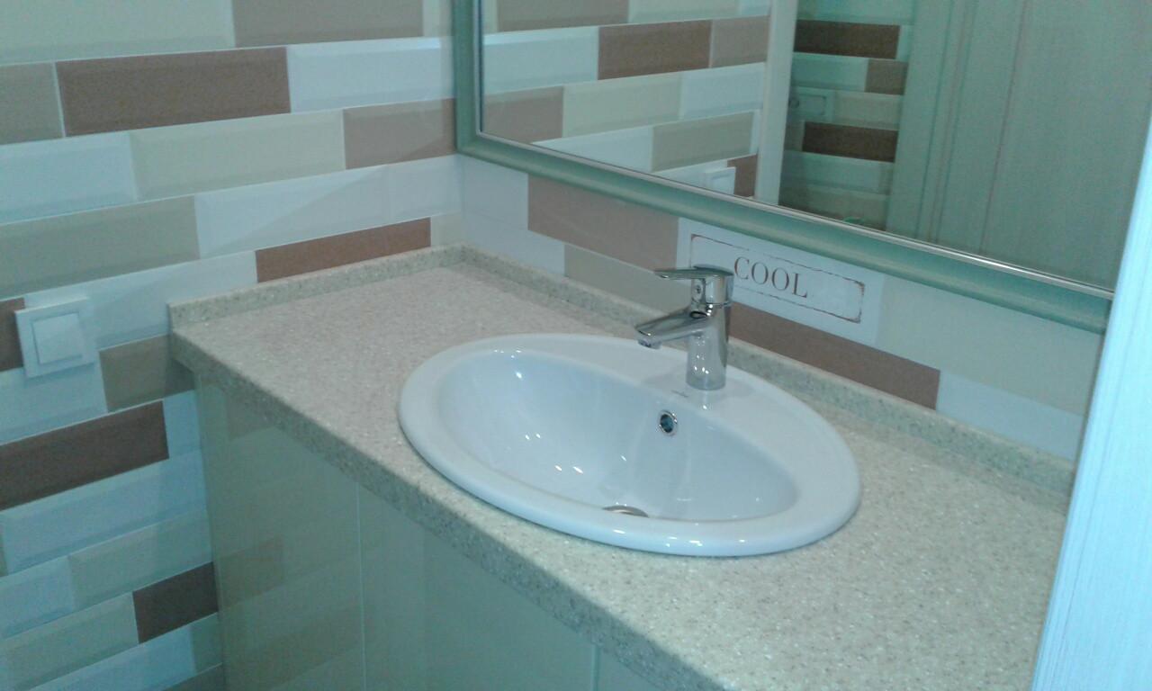 Стільниця у ванну з каменю Tristone F105
