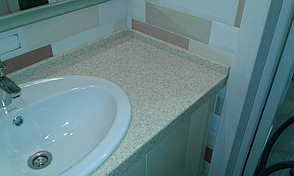 Столешница в ванную из камня Tristone F105, фото 3