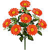 Букет искусственных цветов Хризантема атласная , 42 см