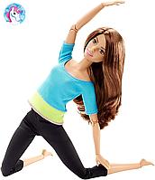 Кукла Барби йога Шатенка Безграничные движения Barbie Made To Move