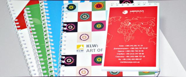 Блокноты с логотипом на заказ