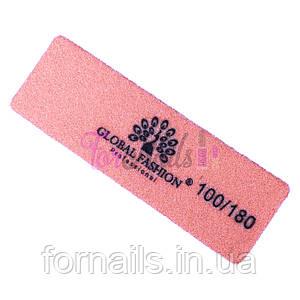 Баф Global Fashion 100\180, 9*3 см, оранжевый