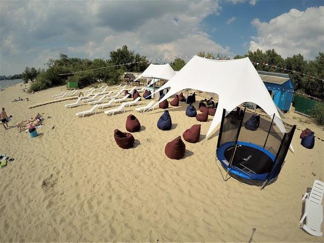 пляжные шатры