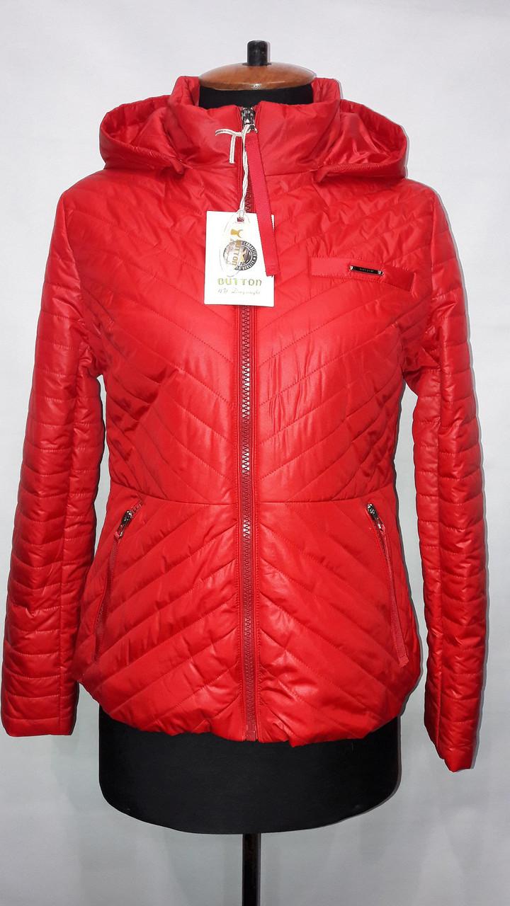 """""""button""""-демісезонна куртка 60-633"""