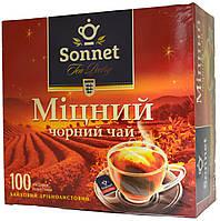 """Чай черный Sonnet  """"Міцний"""" 100п."""