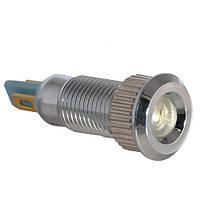 Сигнальная арматура TY08F белая 24V AC/DC