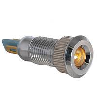 Сигнальная арматура TY08F желтая 24V AC/DC