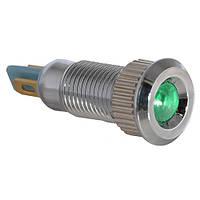 Сигнальная арматура TY08F зеленая 24V AC/DC