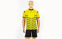 Футбольная форма Hatch  (PL, р-р S-3XL, желтый, шорты черные)
