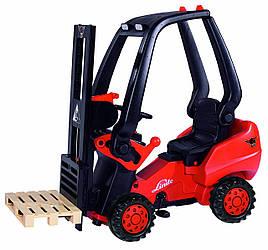 Детский Вилочный трактор погрузчик педальный Big Linde 0056580