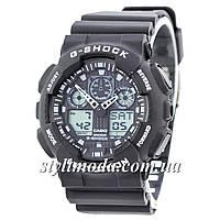 Часы наручные Casio G-Shock GA-100 Black-White (реплика)
