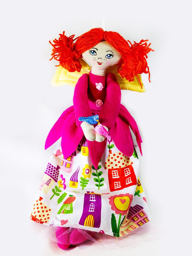 Кукла ангел Цветочница