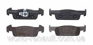Комплект передних тормозных колодок на Рено Логан 2, Сандеро 2 1.6і 8V, 1.2i 16V / BREMBO P68060