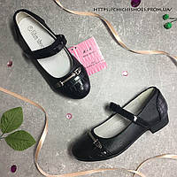 Черные нарядные туфли Lilin shoes 27-30 размер