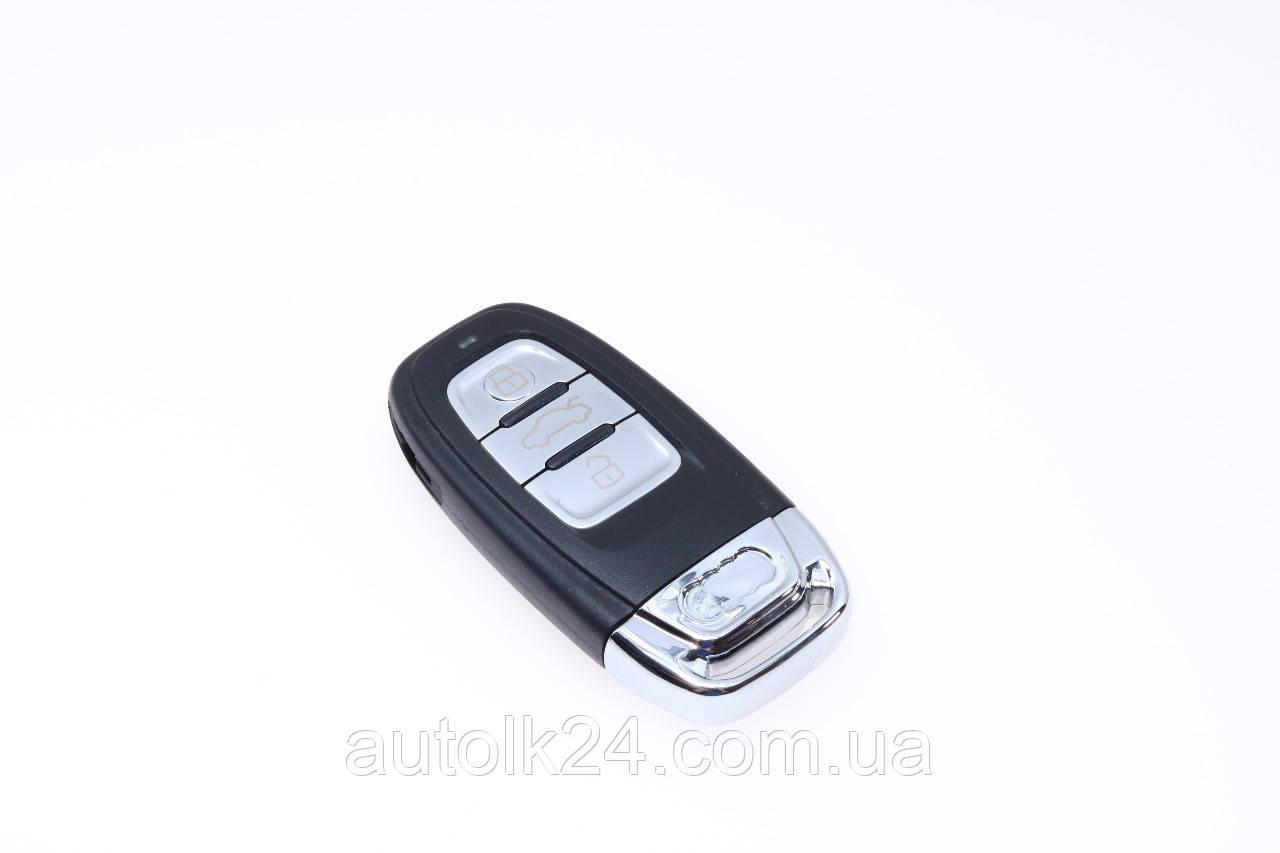 Корпус смарт-ключа AUDI  3 Кнопки  лезвие HU66