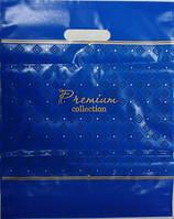 Пакет банан пако 30*37 Премиум синий