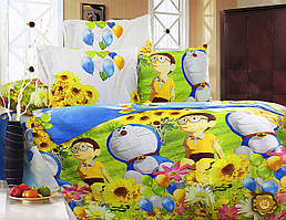 Детский комплект постельного белья 145х220 ранфорс (Р0005)