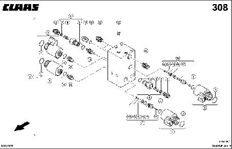HAUPTVENTIL - CLAAS MEDION 330 H (3)