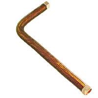 Трубка на компрессор, L= 325 мм  (гайка 3/8*3/8)
