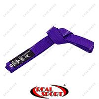 Пояс для кимоно Matsa, фиолетовый MA-0040-V (хлопок)