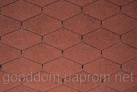 "Битумная черепица ""IKO"", Monarch Diamant 10 (Tile Red)"