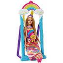 """Набор с куклой Barbie """"Радужные качели"""", фото 2"""